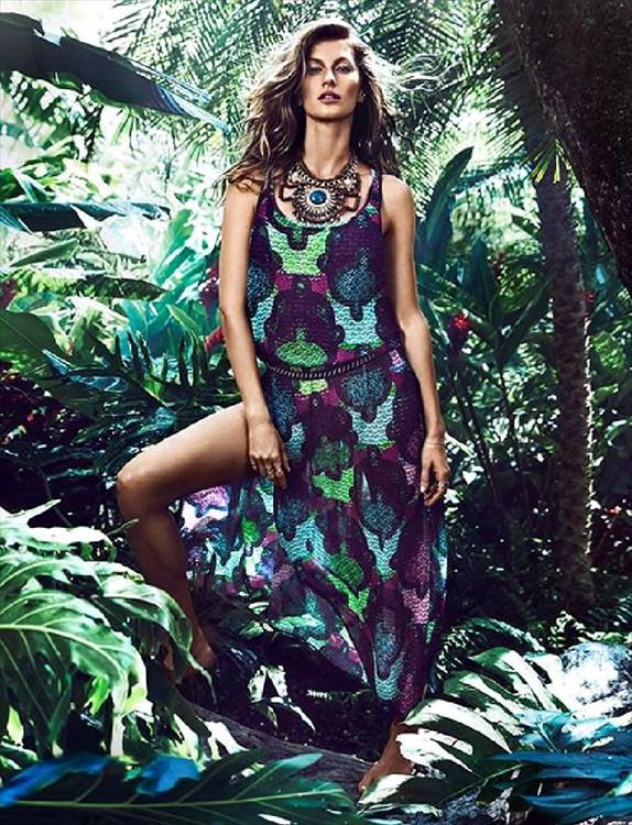 H&M moda de primavera con Giselle Bundchen 2
