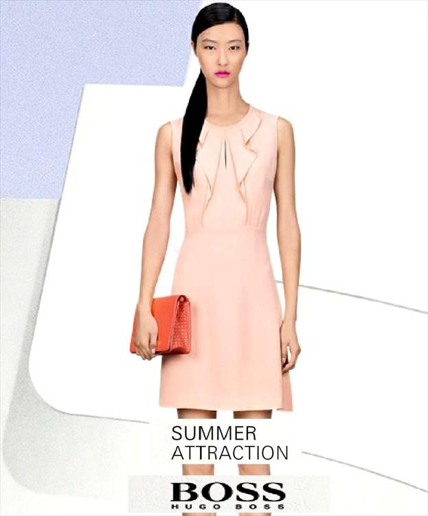 Vestidos de moda para verano Hugo Boss 2