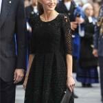 La nueva reina de España, Letizia Ortiz, también a la moda 2