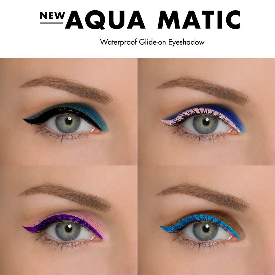 Maquillaje de ojos Aqua Matic de Make Up For Ever