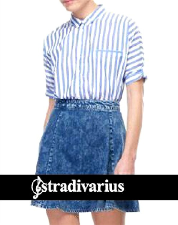 moda en denim stradivarius