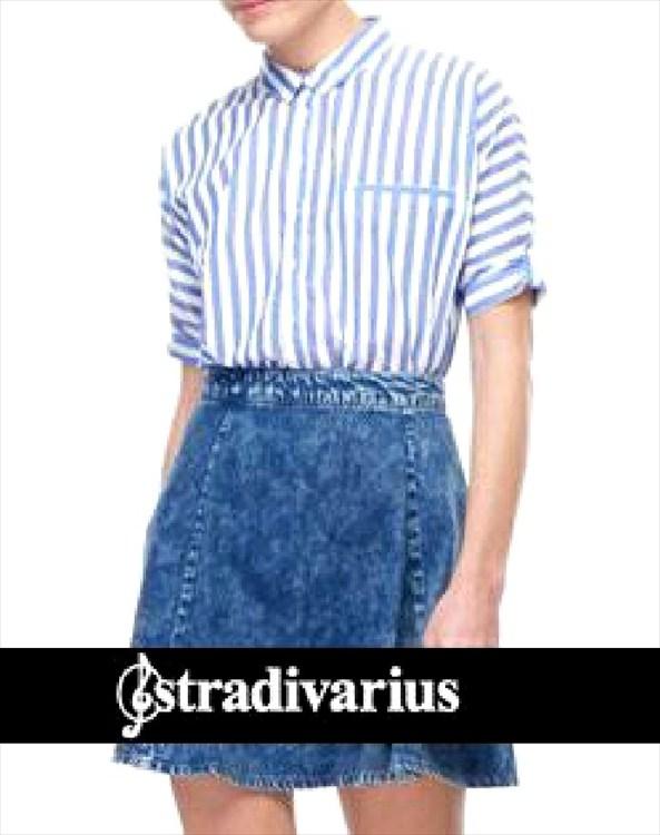 moda en denim stradivarius