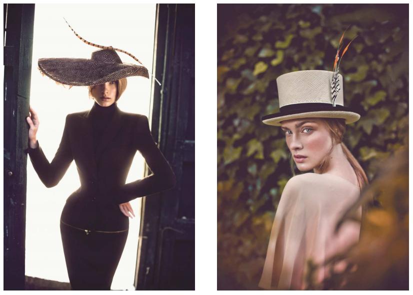 Complementos de fiesta Mibúh para la próxima temporada otoño - invierno 2014 - sombreros