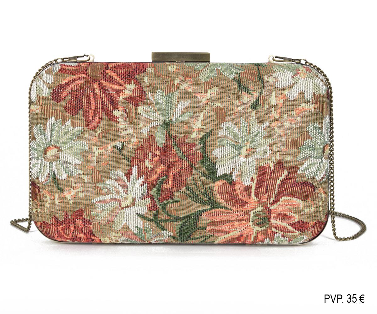 Clutch - tapiz de flores