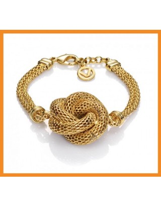 pulsera-bijoux-nudo-dorada