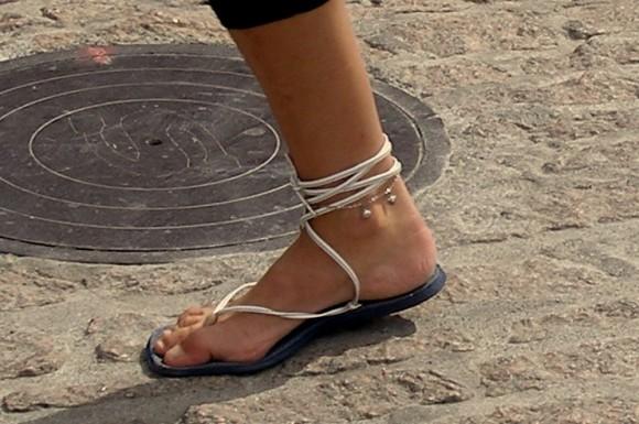 Cuidado de los pies en el verano