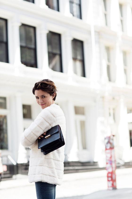 look moda 2014 otoño zara (abrigo pelo fantasia)