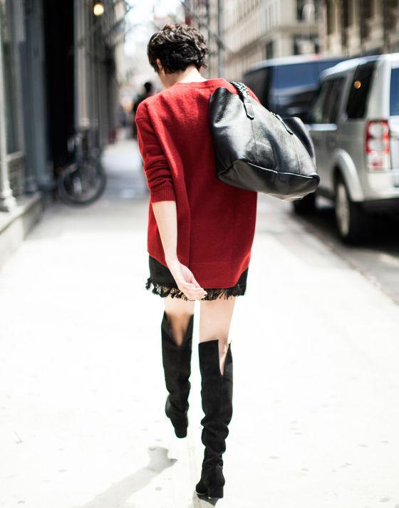 look moda 2014 otoño zara (jersey oversice)