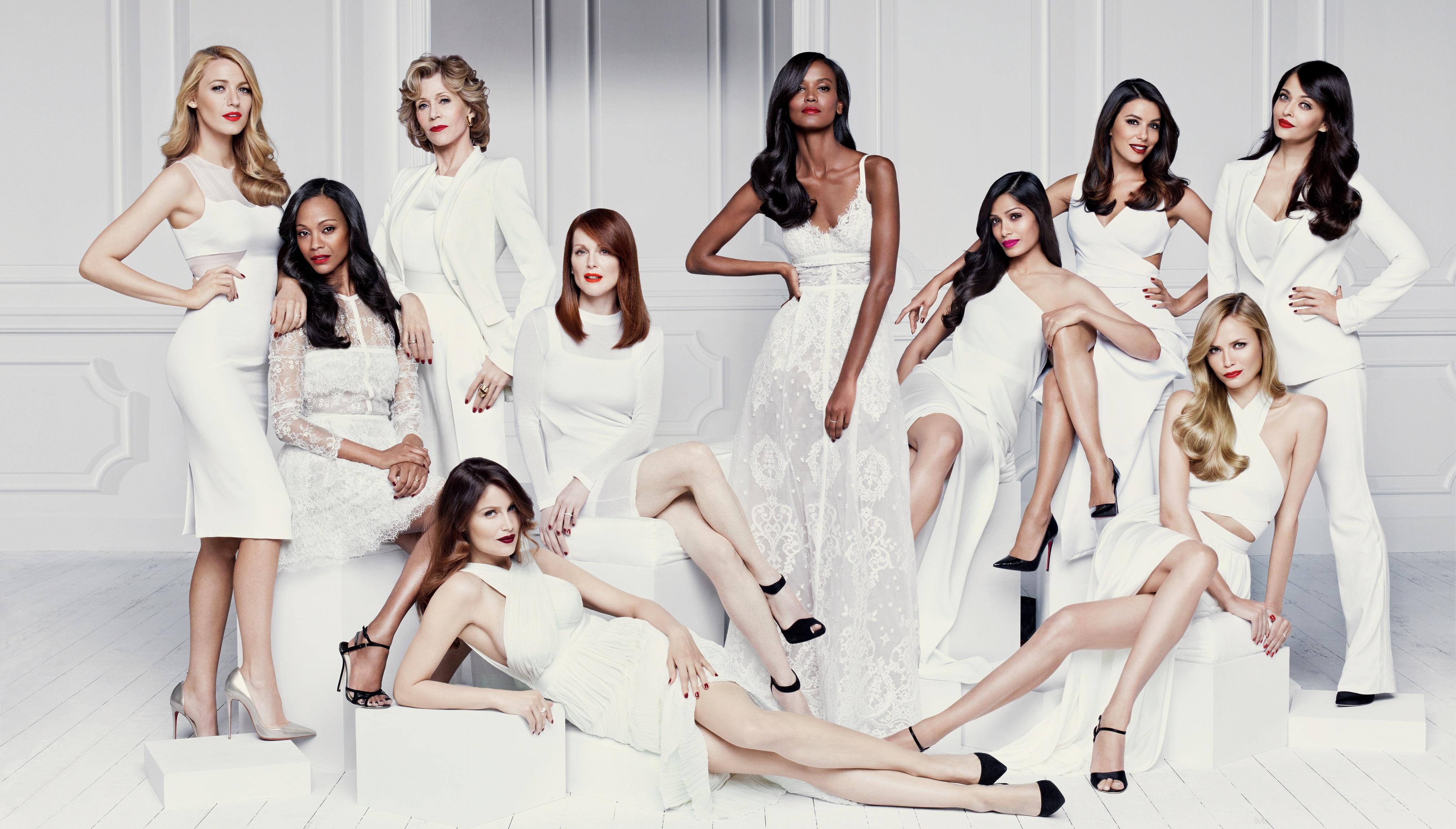 Embajadoras L'Oréal Paris Collection Exclusive rojos mate