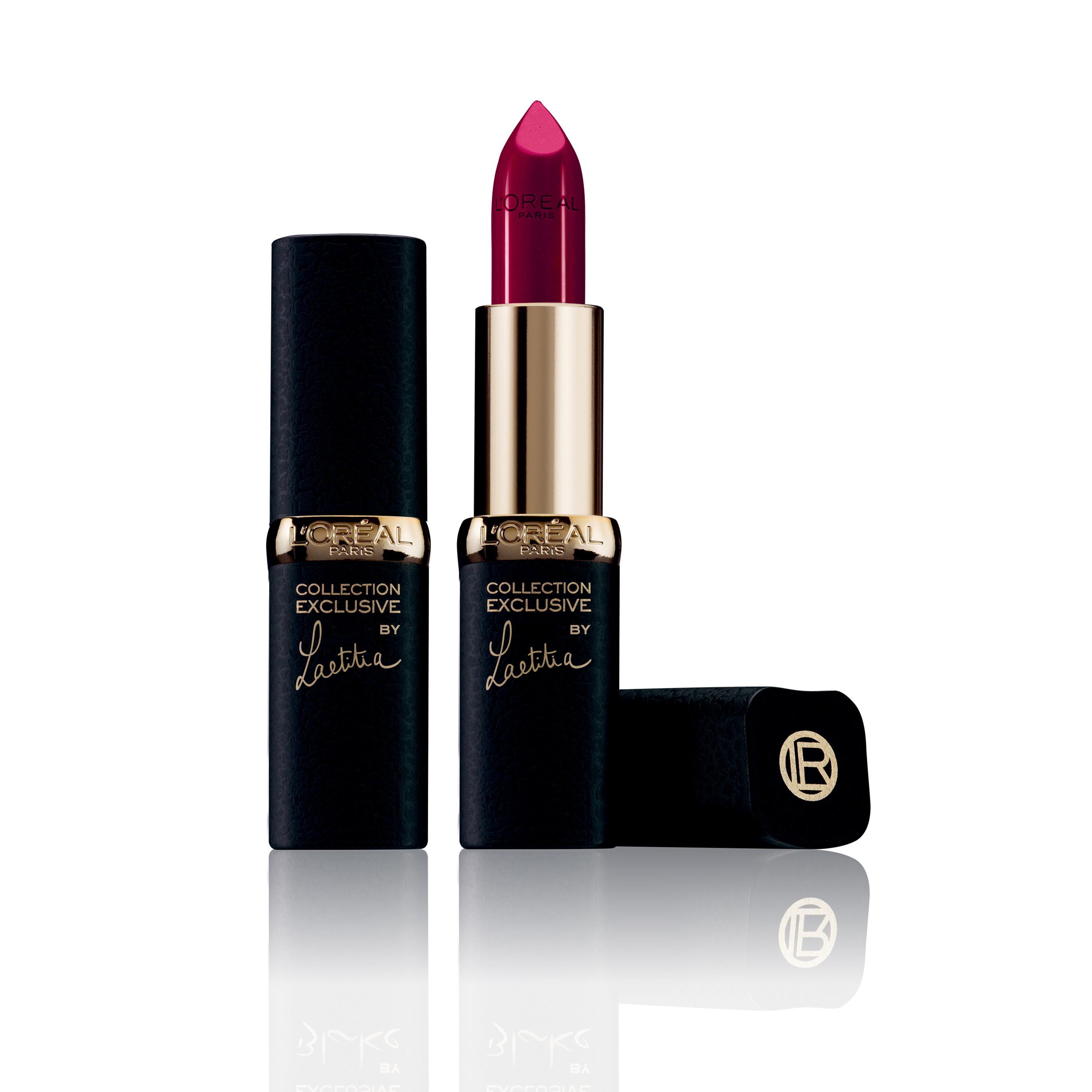Pintalabios rojo mate Laetitia Collection Exclusive de L'Oréal Paris