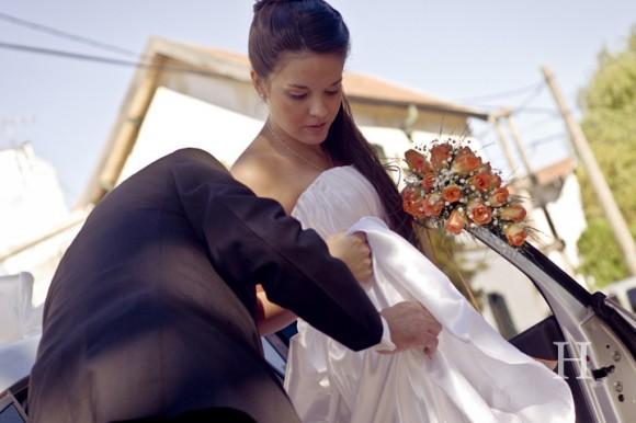 Diferentes ramos de novia