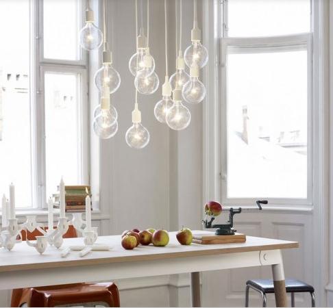 lámpara de techo de bombillas
