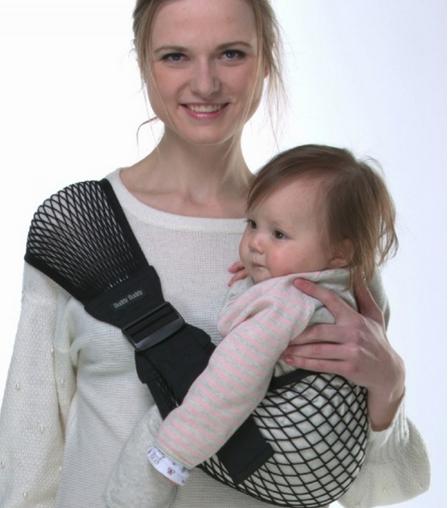 bandolera pasear bebés pajarito pinzon