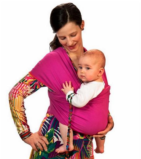 tejido elástico para pasear al bebé pajaritopinzon