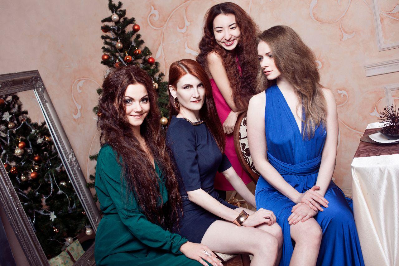 vestidos de fiesta navidad