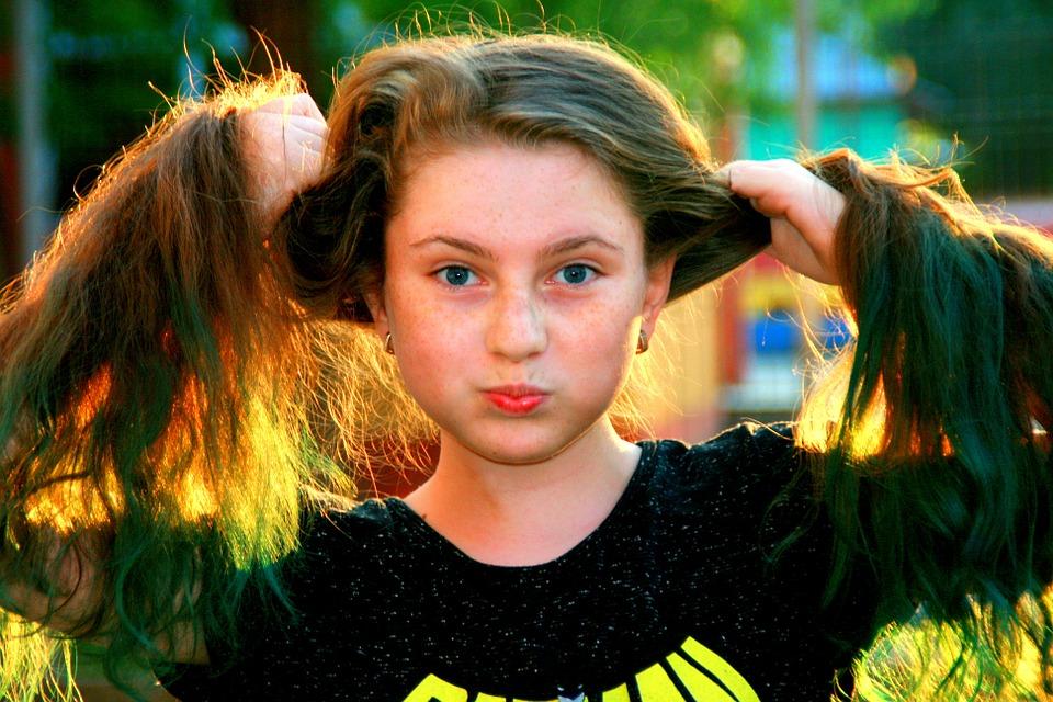 pelo de mujer