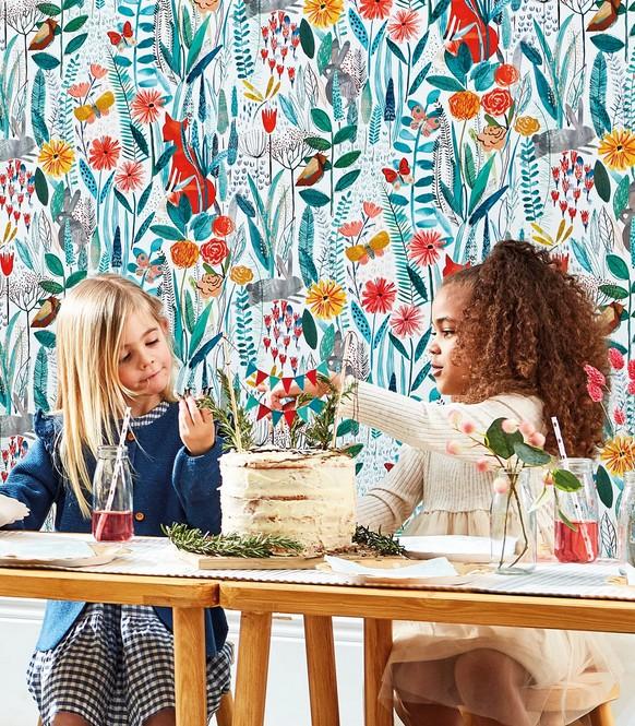 Papeles pintados, para llenar de color las paredes de tu hogar 1