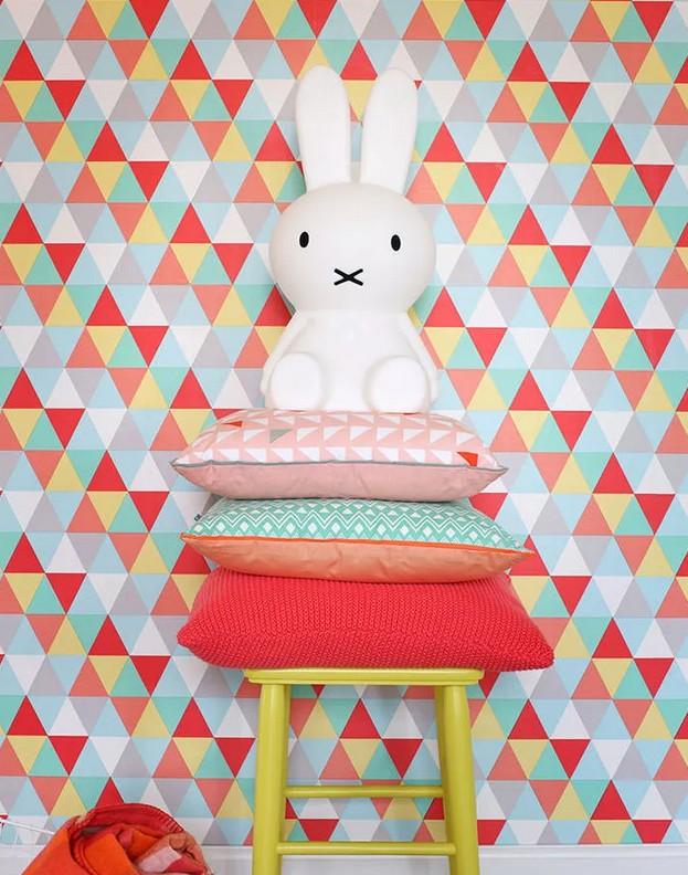 Papeles pintados, para llenar de color las paredes de tu hogar 2
