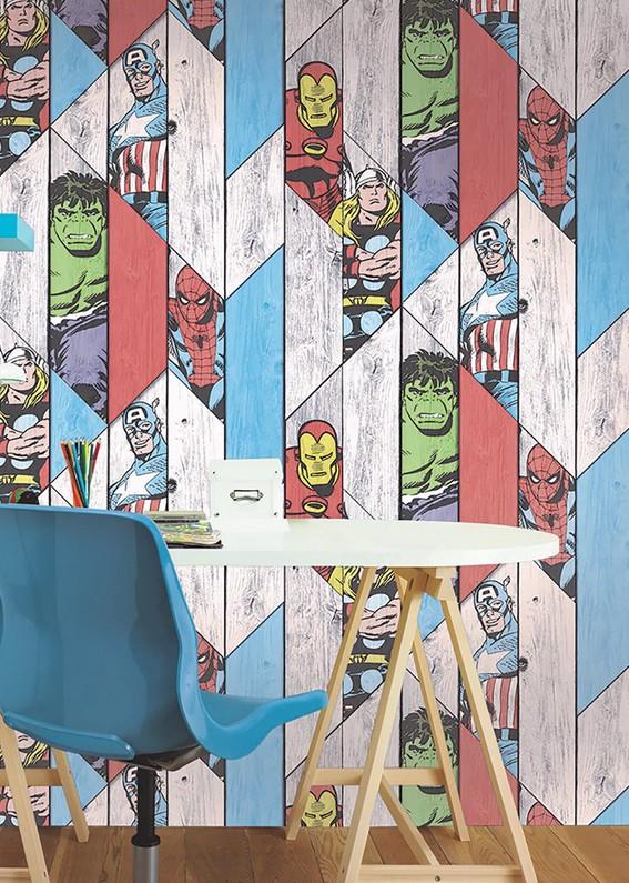 Papeles pintados, para llenar de color las paredes de tu hogar 3