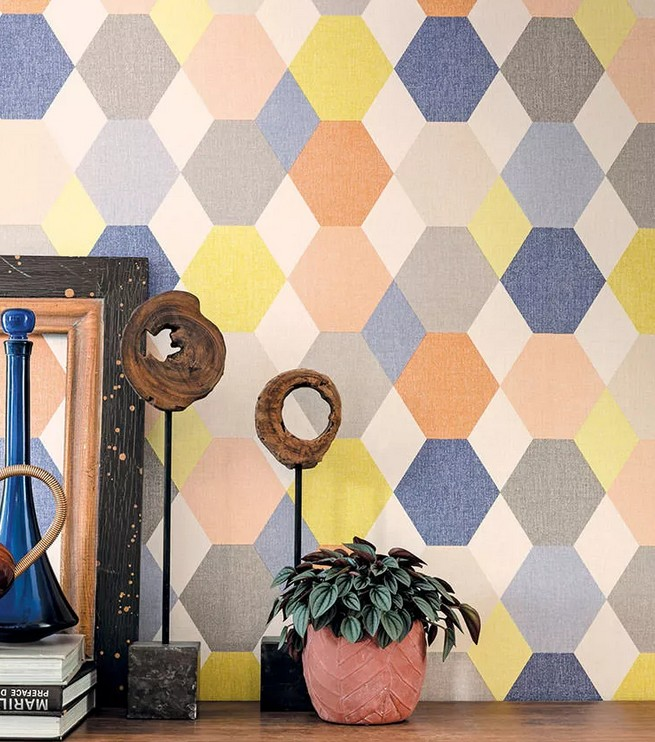 Papeles pintados, para llenar de color las paredes de tu hogar 5